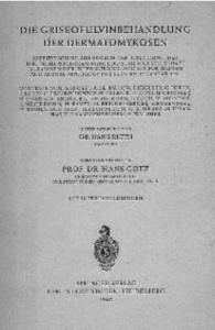 Abb. 1: Umschlagseite des Buches mit den Vorträgen der Gründungstagung der DMykG am 15. 01.1961 in Essen.